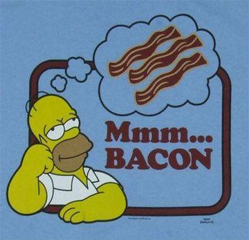 homer simpson bacon gif