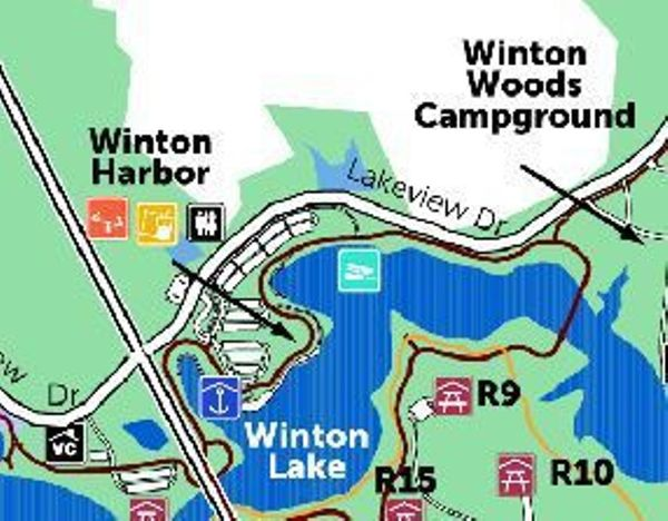 Meander winton tri state kayakers cincinnati oh meetup for Winton woods cabins