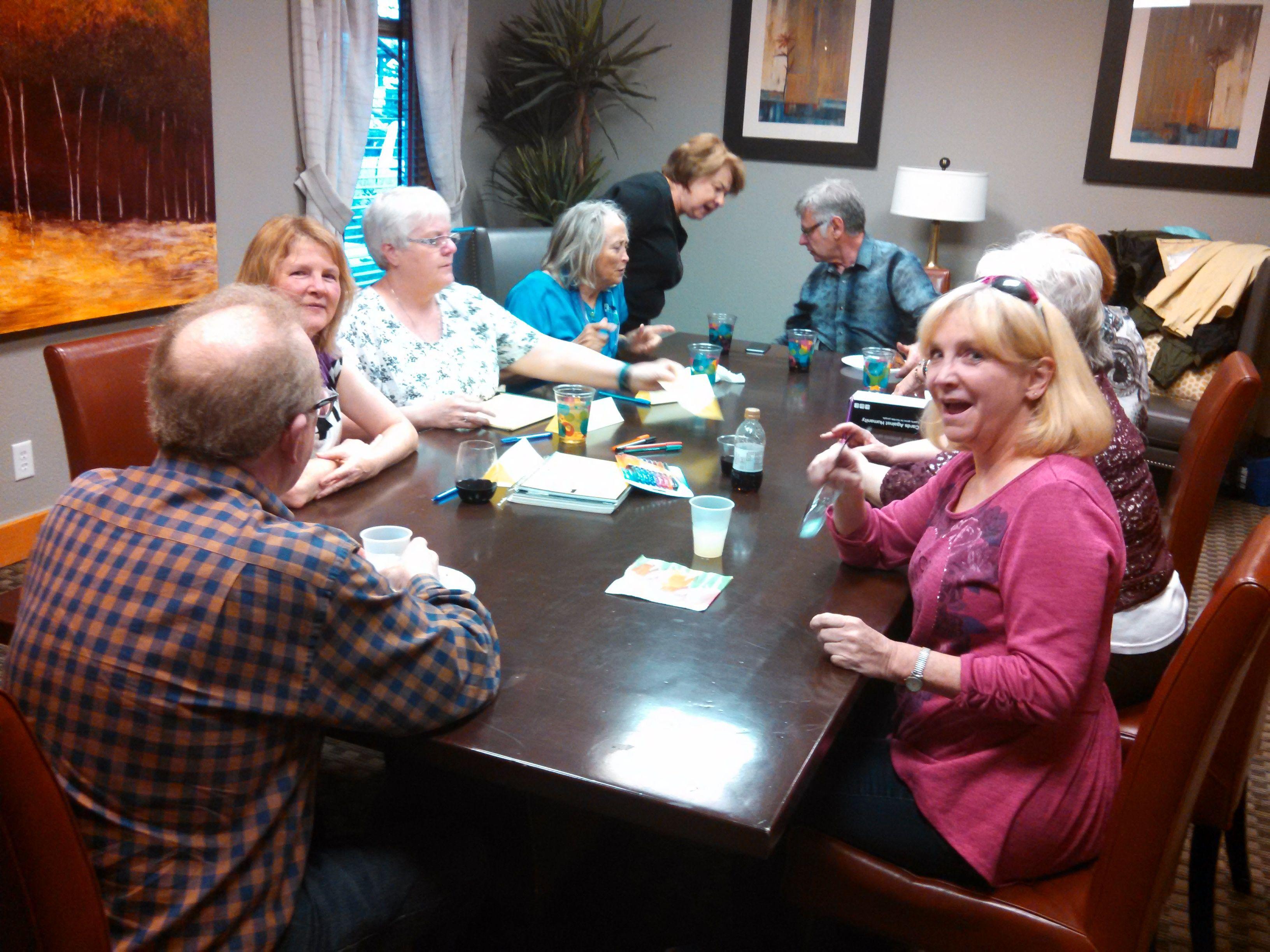 Baby boomers social club