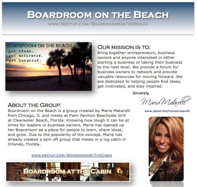 About Boardroom on the Beach