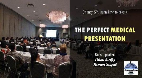 """Giving the Perfect Presentation"" seminar for entrepreneurs and other business managers in the Life Science and Healthcare sector"