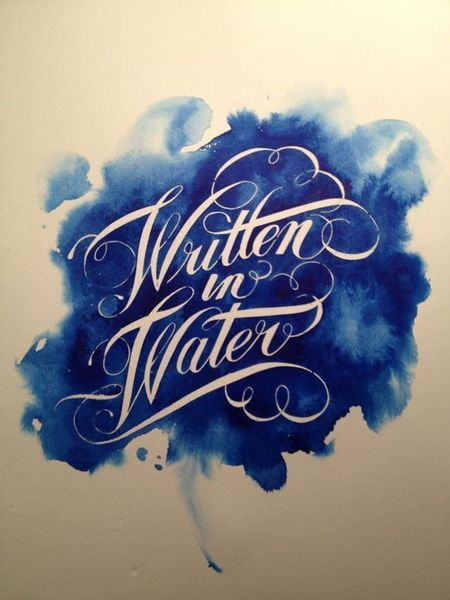Masking fluid lettering watercolor san francisco