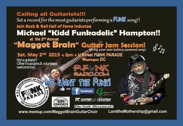 Maggot Brain Guitar JAM SESSION