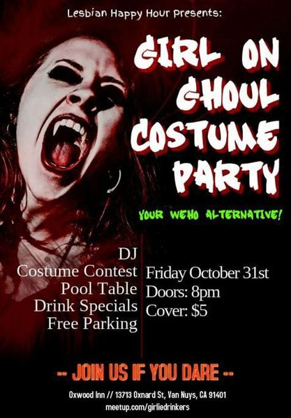 Oct 31 :: Girl on Ghoul Costume Party