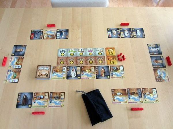 Let's play Spartacus and Augustus! - San Gorgonio Boardgame