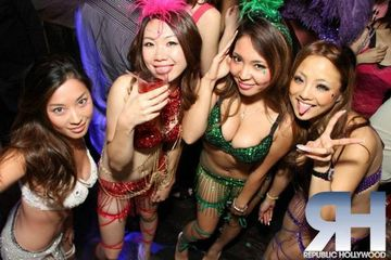What shall Asian clubs in los angeles please Bravo