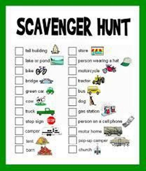 The Scavenger Hunt at The Delhi Zoo welcomes kids with their – Scavenger Hunt Worksheet