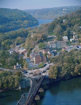 Harpers Ferry Bike Ride Thru History and Bed & Breakfast ...