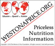 Weston A. Price Banner