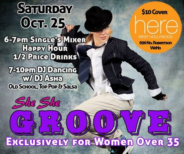 Oct 25 :: SheShe Dance in WEHO