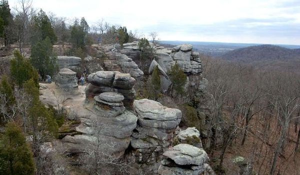 Winter Hiking Trip To Southern Illinois Central Indiana Wilderness Club