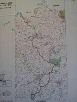 Proposed US Bike Route Through Centralwestern Kentucky - Us bike route 1 map