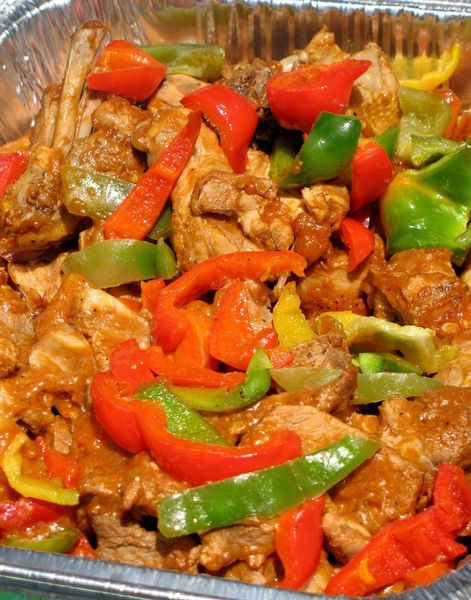 Whats cookin chicago chicken afritada chicken afritada original joelens family recipe forumfinder Image collections