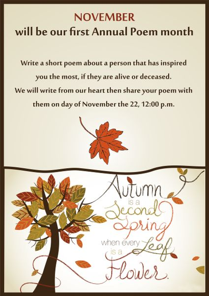 November Poems And Quotes. QuotesGram