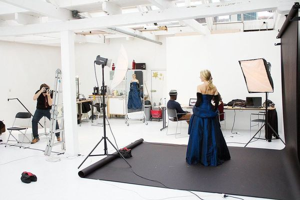 how to build a professional photography studio