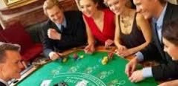 Social Drinks at a Casino: With a lesson on BLACKJACK AND ROULETTE