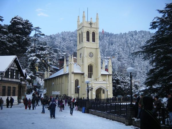 Celebrate Chinese New Year in India Himalayan Ranges starting at Shimla, Himachal Pradesh, India