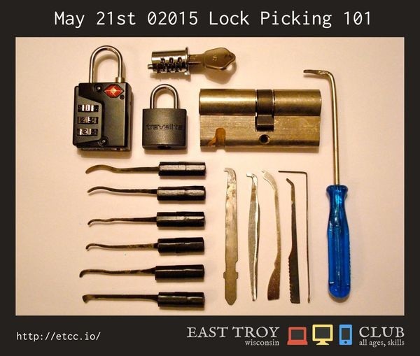 Lock picking 101 gallery for Lock pick rake template
