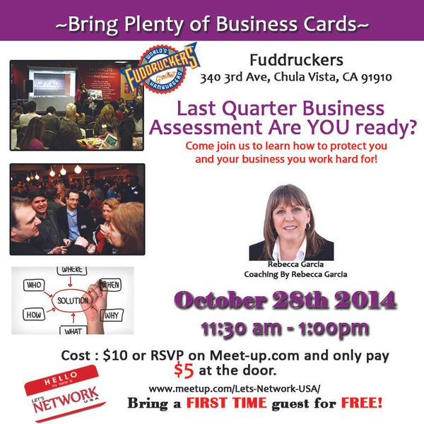 Lets network chula vista lets meet for lunch next level last quarter business assessment reheart Images