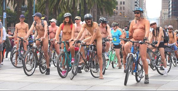 Naked ride tucson bike