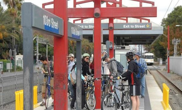 Bike From Norwalk Metro Station To Long Beach On The San