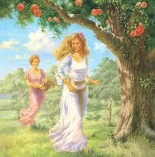 demeter and persphone The greek goddess, persephone, was the child of demeter, the goddess of earth's fertility and harvest, and zeus, the king of all the olympians demeter was the most nurturing of goddesses and, in turn, was the most nurturing of mothers.