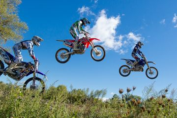 walden motocross track to photograph colorful and exciting