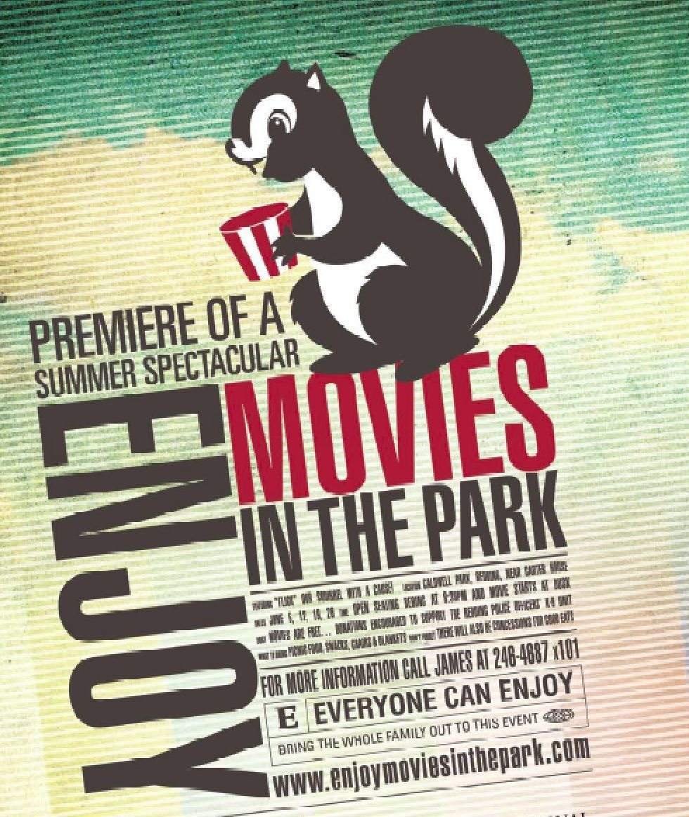 Outdoor Movies in the Park in Anderson, California