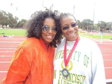 Loretta Green Williams at 58 is Still Fast. Hear Her Speak