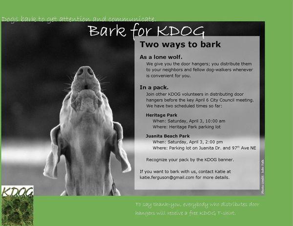 Bark for KDOG
