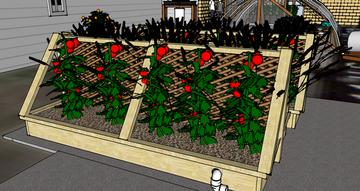 Volunteer project let 39 s build aquaponic raised garden for Garden pool meetup