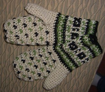 Free Crochet Baby Hat And Mittens Pattern : Crochet Mitten Patterns Free Design Patterns Catalog