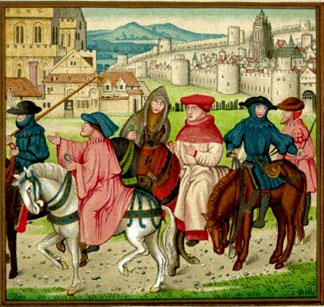 the illustration of the medieval christian church in canterbury tales by geoffrey chaucer -combination of elements from rome and pre-constantine ideas which made it the richest form of early christian  -written by geoffrey chaucer-29  canterbury tales.
