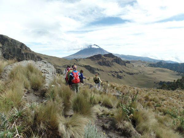 Hiking Volcán Iztaccíhuatl - Senderismo - 11 Diciembre
