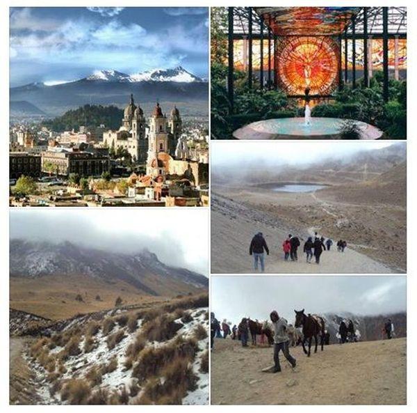 Day trip to the Volcano Nevado de Toluca & Toluca City