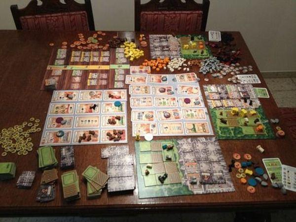 Caverna: The Cave Farmers - San Gorgonio Boardgame Consortium