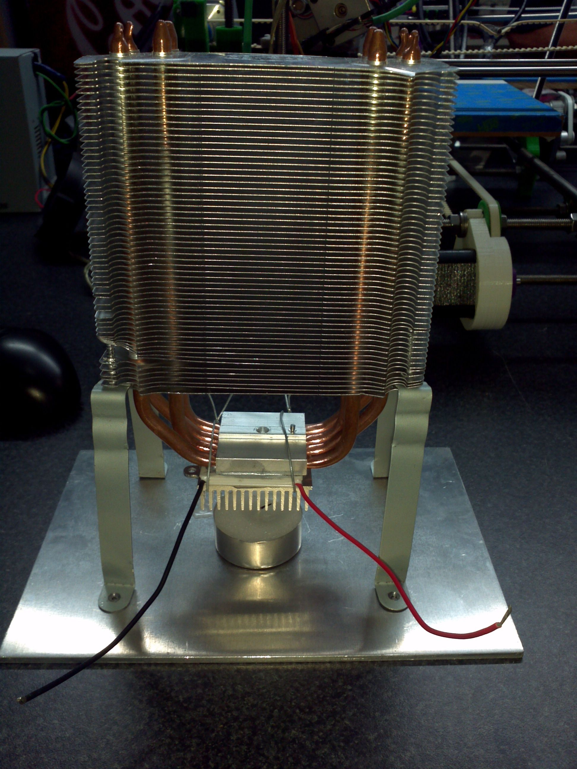 Thermo-Electric Generator