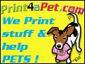 PRINT 4 A PET